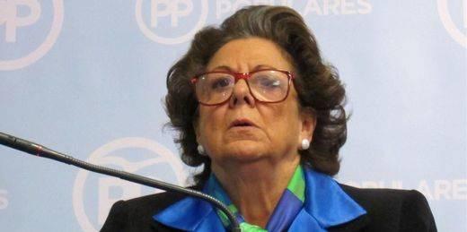 > Rita Barberá fallece tras sufrir un infarto en su hotel de Madrid