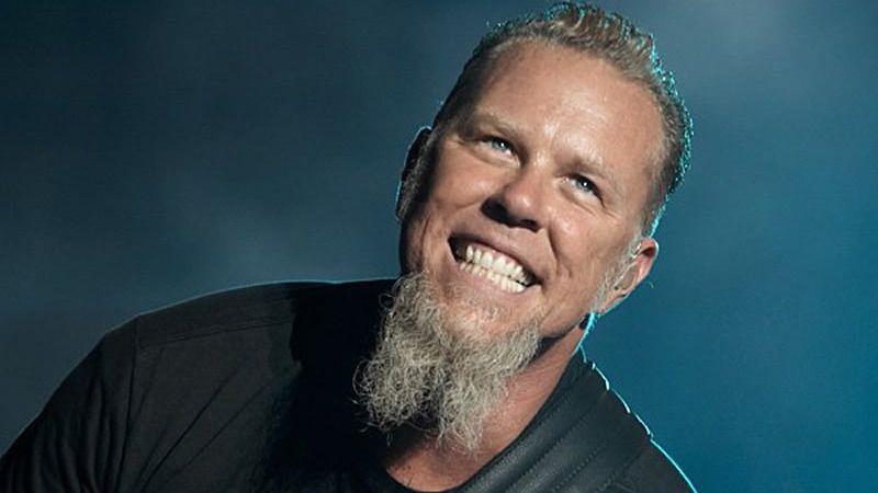 James Hetfield (Metallica) confiesa su interés por Adele y Amy Winehouse