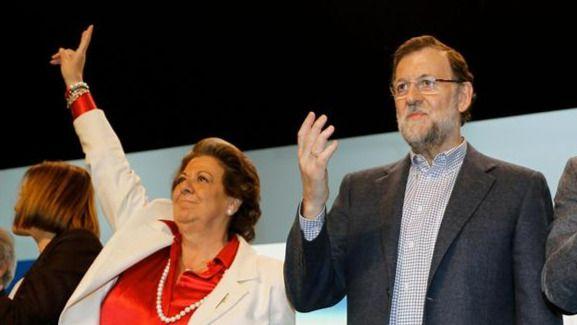 Rajoy, 'enormemente apenado' por la muerte de Barberá: 'Se hace muy duro esto'