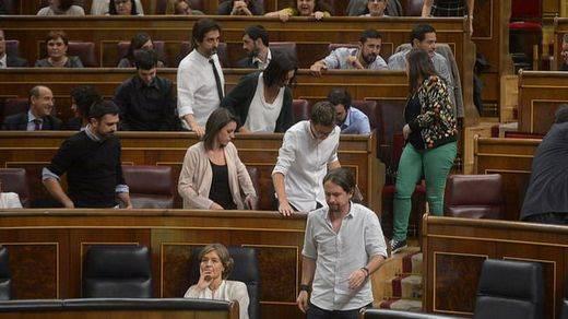 > Minuto de silencio: Podemos no asiste en el Congreso y sí en el Senado