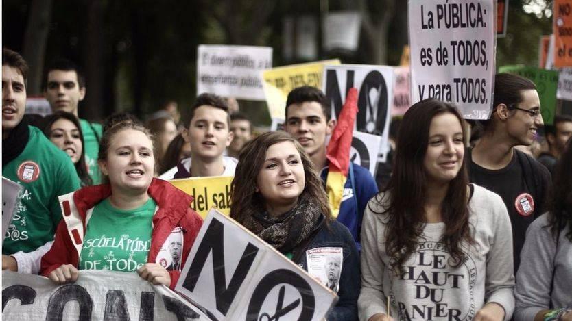 Los colectivos estudiantiles, en pie de guerra ante la huelga educativa del 24-N