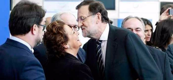 Rita Barberá y Mariano Rajoy