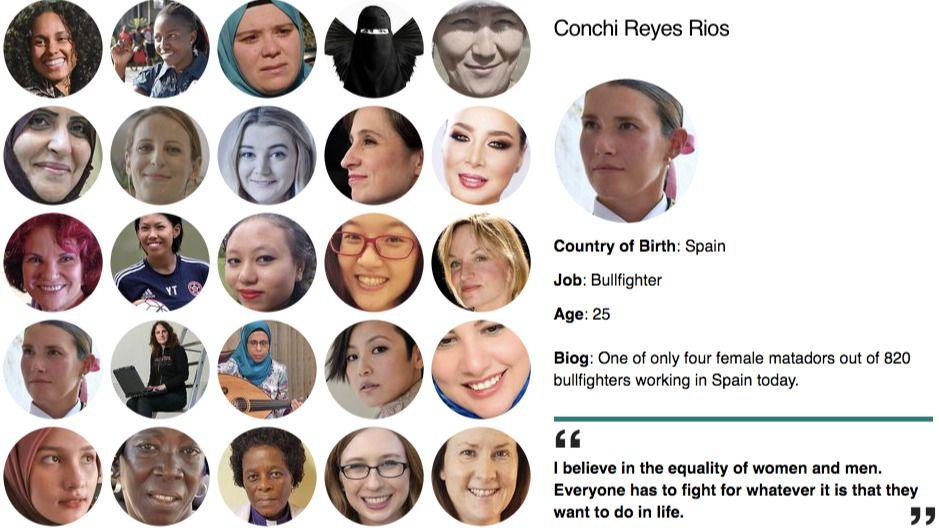 La única española en la lista de mujeres más influyentes del mundo es... la torera Conchi Ríos