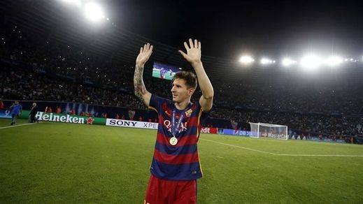 Messi niega lo evidente de 'su' Barça: 'El mejor equipo del mundo no puede depender de un jugador'