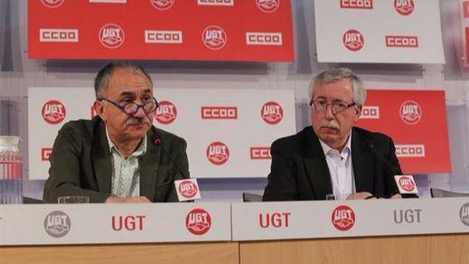 Se acabó la teórica paz social: CCOO y UGT deciden convocar movilizaciones en todo el país para el próximo 15 de diciembre