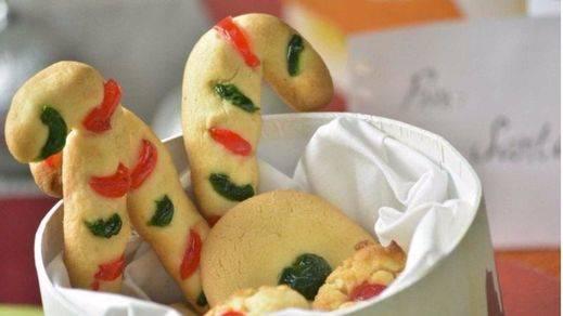 Recetas navideñas: galletas de mantequilla con cereza