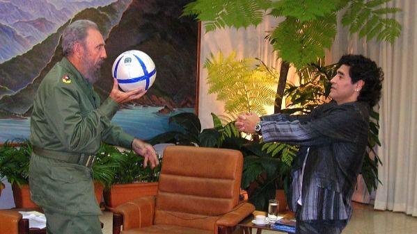 Maradona, genio y figura: dice que Fidel fue 'el hombre más sabio de todos'