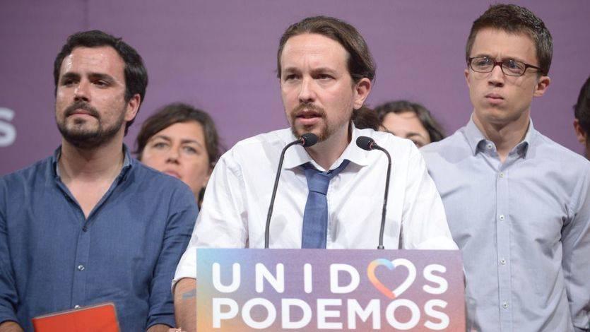 ¿A qué líder apoyan más las bases de Unidos Podemos?: la sorpresa entre Iglesias, Garzón y Errejón