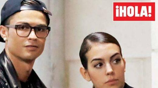 Se confirma el noviazgo entre Cristiano Ronaldo y la española Georgina Rodríguez