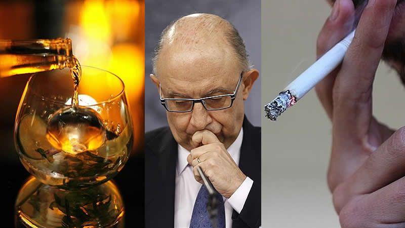 El Gobierno planteará subir los impuestos del alcohol y el tabaco y el PSOE el salario mínimo un 8%