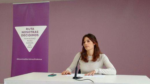 Clara Serra, responsable de igualdad de Podemos, reconoce que hacen falta más portavoces mujeres