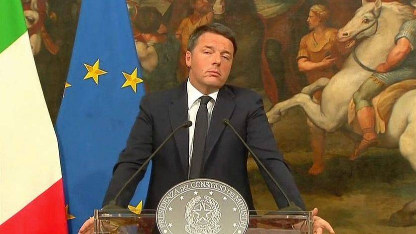 Italia, de nuevo envuelta en el caos: Renzi dimitirá tras su duro fracaso en el referéndum