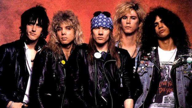 Las 10 mejores canciones de Guns N' Roses