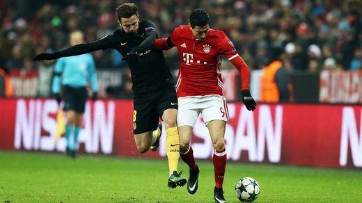 Champions: un Atlético sin pegada se congela en Munich ante un Bayern incisivo (1-0)