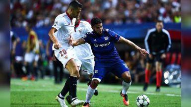 Champions: el Sevilla aguanta bien en Lyon y logra su objetivo de meterse en octavos (0-0)