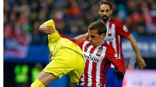 Liga: el 'submarino' sale a flote ante un Atlético desconocido que se hunde más (3-0)