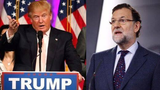 Rajoy y Trump, al teléfono: hasta Barcelona se coló en la charla entre ambos líderes