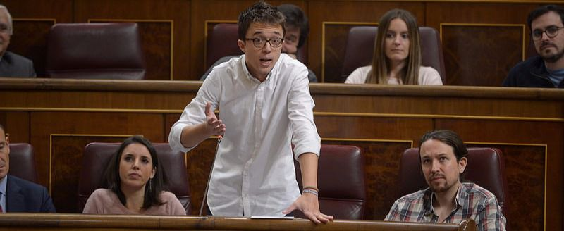 Podemos se planta ante los vetos del Gobierno a las iniciativas parlamentarias