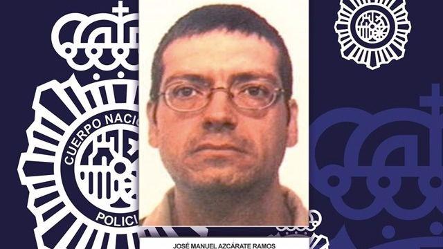 Detenido en Francia el etarra José Manuel Azcárate, que se encontraba huido desde 2012