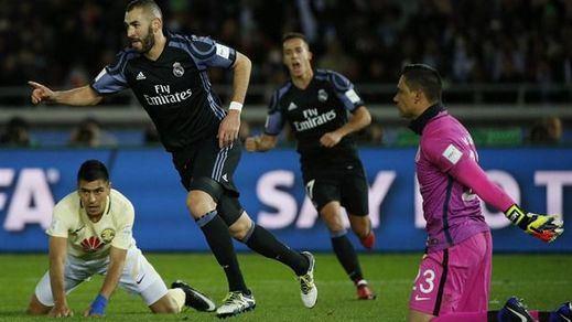 Mundial de Clubes: pronóstico cumplido: el favorito Real Madrid vence al América y se mete en la final (2-0)
