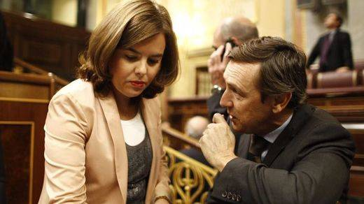 Santamaría excusa así el 'lapsus' de Rajoy y las terceras elecciones