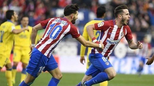 El Atleti pospone su crisis con una pírrica victoria ante Las Palmas (1-0)