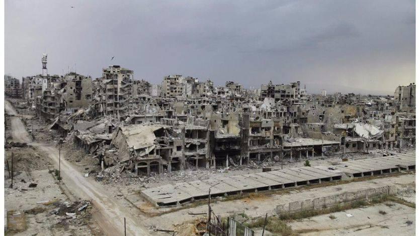 Los autobuses entran en Alepo para continuar con la evacuación