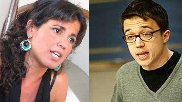 Íñigo Errejón y Teresa Rodríguez descartan aspirar a 'sillones' más altos en Podemos