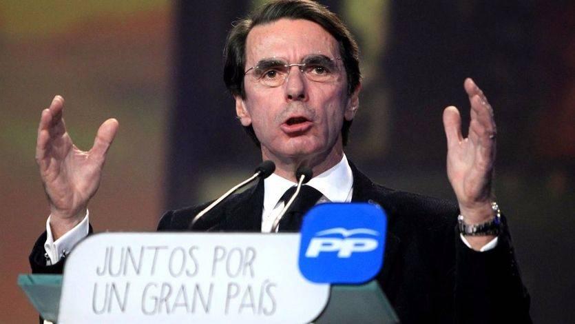 Culmina el divorcio Aznar-Rajoy: el ex presidente renuncia a la presidencia de honor del PP