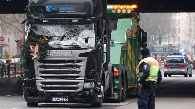 El GPS del camión empotrado en Berlín registró antes extraños movimientos