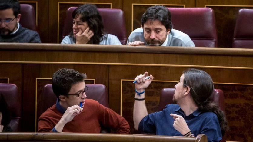 Podemos y Ciudadanos critican 'la foto' del pacto entre PP y PSOE sobre la pobreza energética