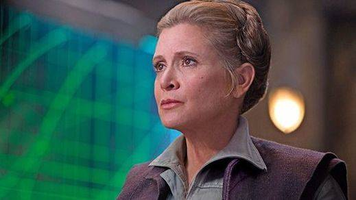 Fisher terminó de rodar 'Star Wars 8' antes de su muerte