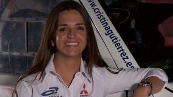 Cristina Gutiérrez, piloto de 25 años, busca ser la primera española en acabar el Rally Dakar