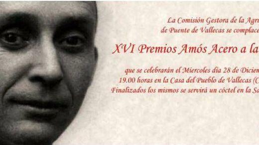 XVI edición Premios 'Amos acero a la Concordia'