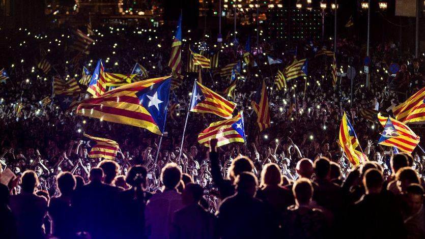 Ligera victoria del 'no' a la independencia de Cataluña en el sondeo oficial de la Generalitat