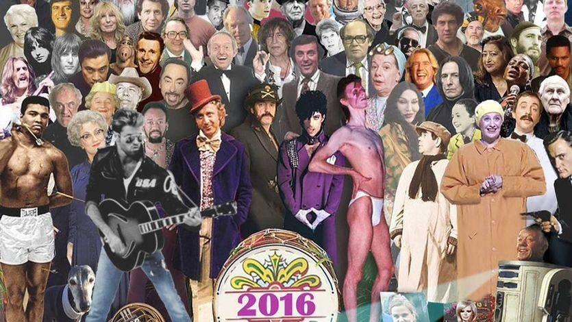 Maldito seas 2016: un repaso a los músicos que se ha llevado el fatídico año