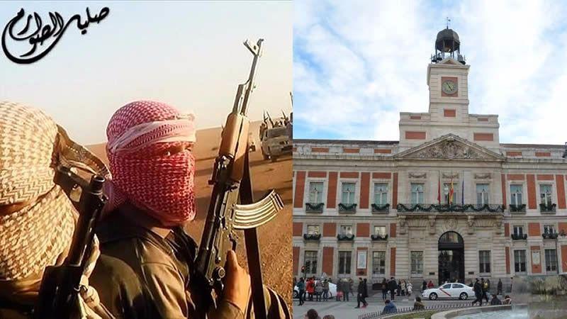 Los últimos yihadistas detenidos en Madrid tenían una imagen de la Puerta del Sol