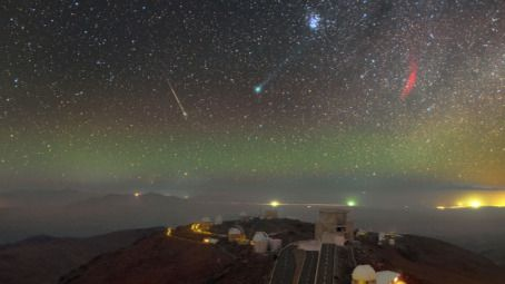 Llegan 'las Cuadrántidas', primera espectacular lluvia de meteoritos observable