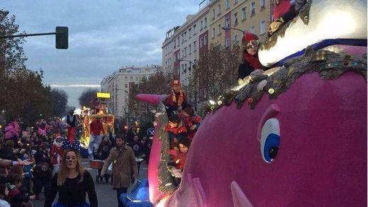 La cabalgata de los Reyes Magos ya ha pasado por algunos sitios afortunados