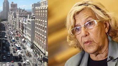 Confirmado: Carmena procederá al cierre permanente de la Gran Vía esta legislatura