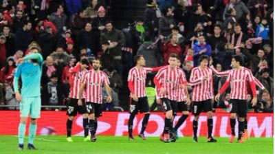 Copa: los leones se cenan a un Barça vulgar al que salvó Messi (2-1)