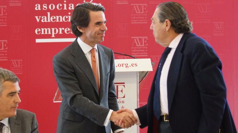 Aznar acaba con las especulaciones de un nuevo partido: 'Sólo tengo un partido, el PP'