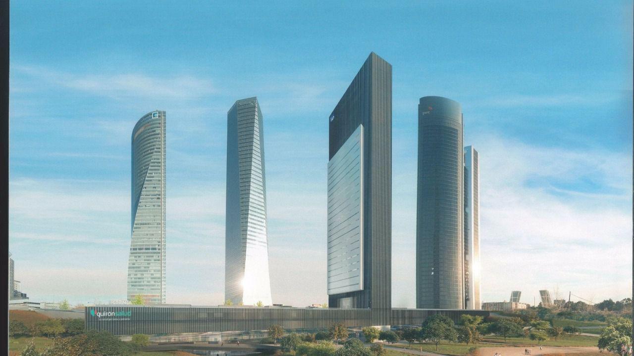 Carmena presenta un proyecto de rascacielos con Villar Mir, hijo del empresario que llamó 'leninistas' a Podemos