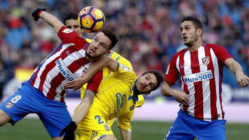 El Atleti casi vuelve a ser 'el Pupas': a punto de ser eliminado de la Copa por Las Palmas (2-3)