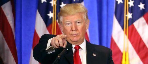 El terrible show de Trump ante la prensa anticipa lo que serán los próximos 4 años