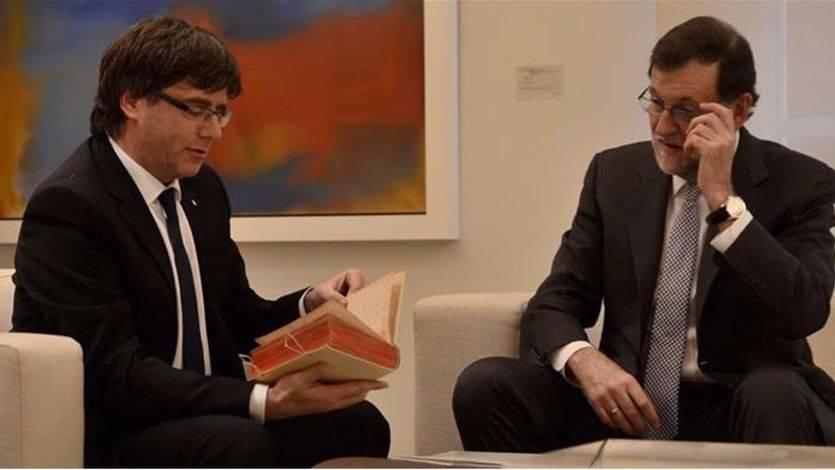 Rajoy abre la puerta a reunirse con Puigdemont próximamente