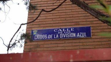 Calle Caídos de la División Azul