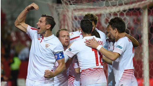 Esta vez salió cruz: el Sevilla estoquea al Madrid en el tiempo añadido (2-1)