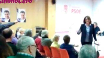 Soraya Rodríguez abandona una reunión del PSOE en Valladolid tras ser llamada