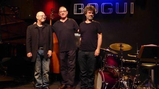 Los maestros de su banda homenajean en el Bogui a Pedro Iturralde, el maestro total